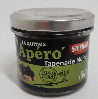Légumes 'Apéro' Tapenade noire