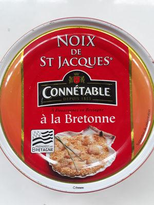 noix de saint jacques a la bretonne