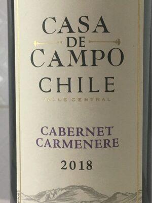 Casa De Campo Cabernet Carmenere Trocken 0,75L
