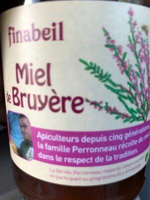 Miel Bruyère 500G