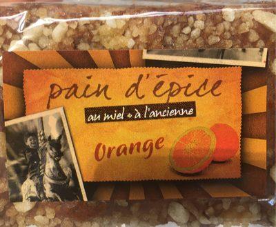 Pain d'Épices au Miel à l'Ancienne Orange