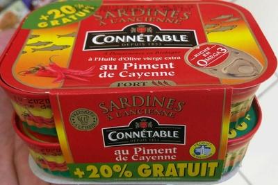 Sardines au Piment de Cayenne