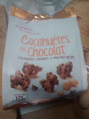 Cacahuetes Au Chocolat Franprix