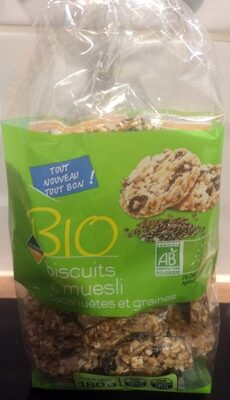 Biscuits Muesli & cacahuetes