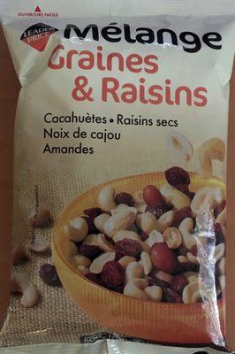 Mélange Graines & Raisins