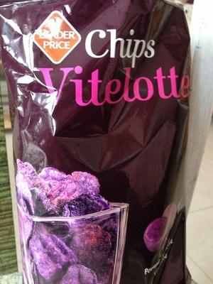 Chips Vitelottes