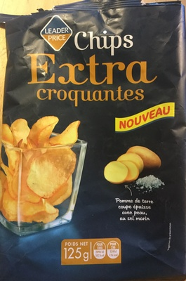 Chips extra croquantes