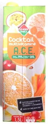 Cocktail multivitaminé A.C.E