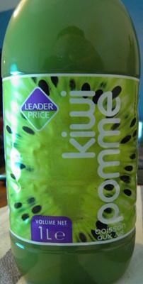 Boisson aux jus Kiwi - Pommes Leader Price