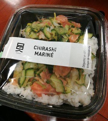 Chirashi mariné