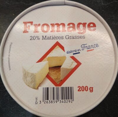 Fromage type camembert