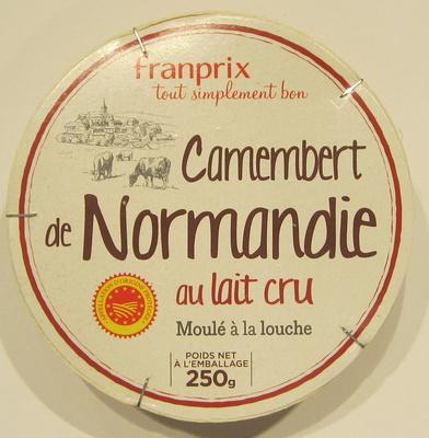 Camembert de Normandie au lait cru moulé à la louche