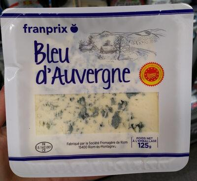 Bleu d'Auvergne AOP (30 % MG)