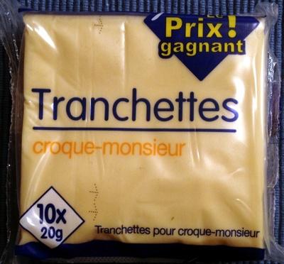 Tranchettes croque-monsieur