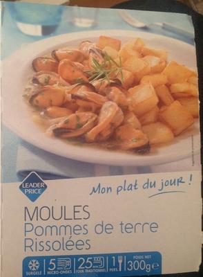 Moules Pommes de terre rissolées
