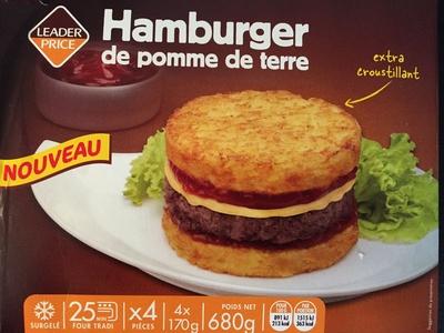 Hamburger de pomme de terre