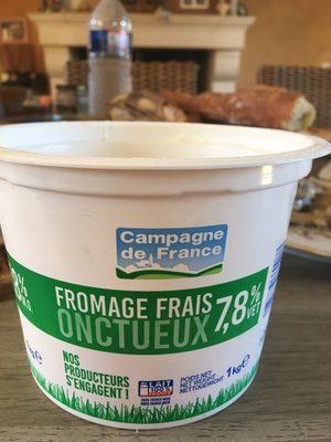 Fromage frais onctueux 7,8 %M. G.