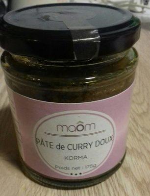 Paté de curry doux