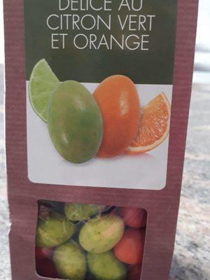 Délice au citron vert et orange