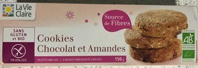 Cookies aux Pépites de Chocolat (Moins de Matières Grasses)