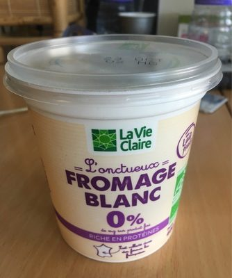 L'onctueux fromage blanc 0 %