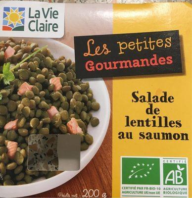 Lentilles au Saumon la Vie Claire