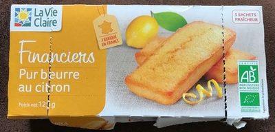 Financiers Pur beurre Citron