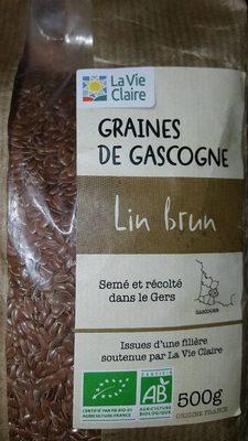 Graines de Gascogne lin brun