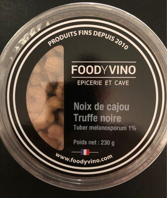 Noix de cajou a la truffe noire