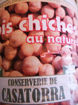 Pois chiches Casatorra Naturel 4/4