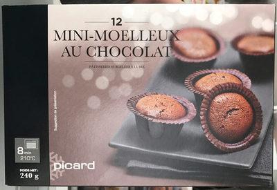 12 Mini-Moelleux au Chocolat