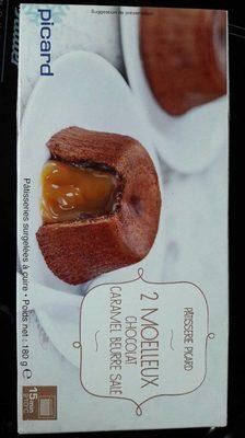 2 moelleux chocolat caramel beurre salé