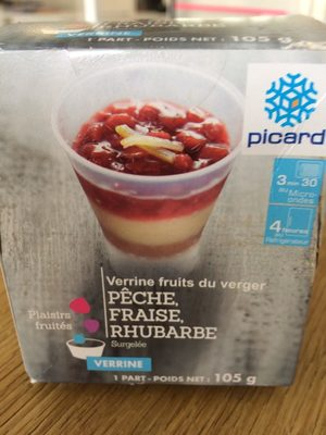 Verrine Fruits du Verger