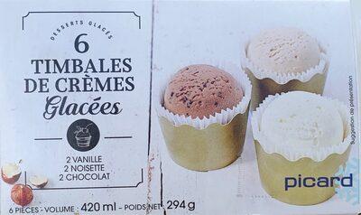 Timbales de Creme glaceea