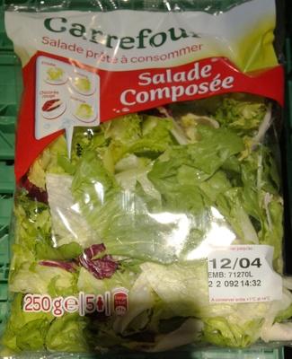 Salade prête à consommer, Salade Composée (5 portions)