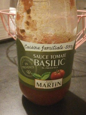500G Sauce Tomate Basilic