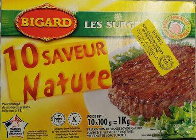 Steak Haché Pur Boeuf 15% MG