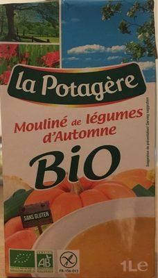 Mouliné de légumes d'automne