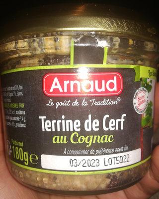 Terrine de Cerf au Cognac