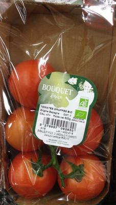 Tomates grappes bio