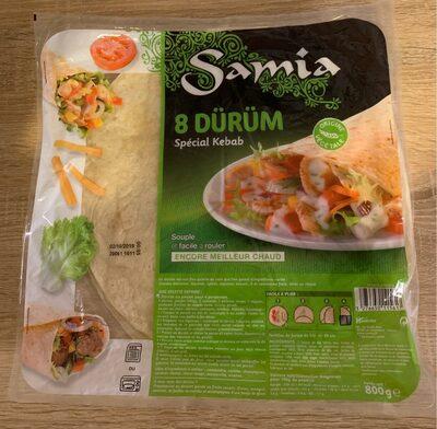 8 Tortillas Dürüm Spécial Kebab