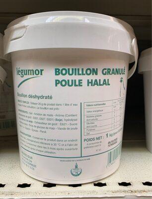 Legumor Granule Bouillon Granule De Poule Halal 1Kg