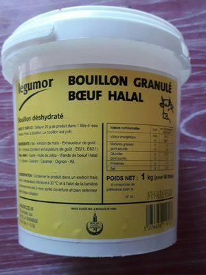 Legumor Bouillon Granule Halal 1Kg
