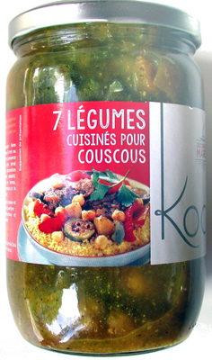7 légumes cuisinés pour couscous