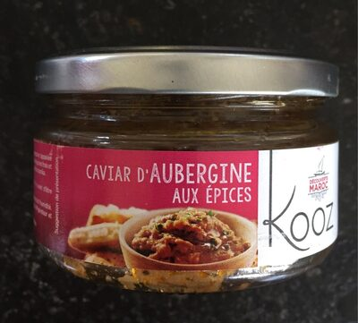 Caviar d'aubergine aux épices