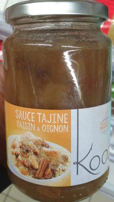 Sauce Tajine Raisin & Oignon