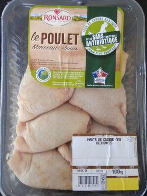 Haut de cuisse de poulet 1kg élevé sans antibiotic