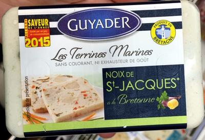 Les Terrines Marines Noix de St-Jacques à la Bretonne
