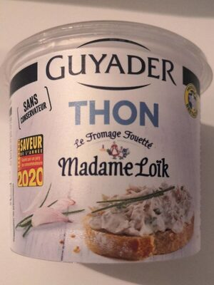 Guyader Thon au fromage fouetté