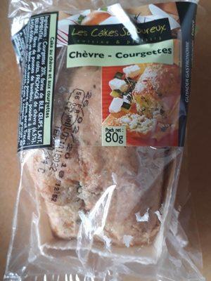 Mini-Cake Chèvre Tomate Courgette